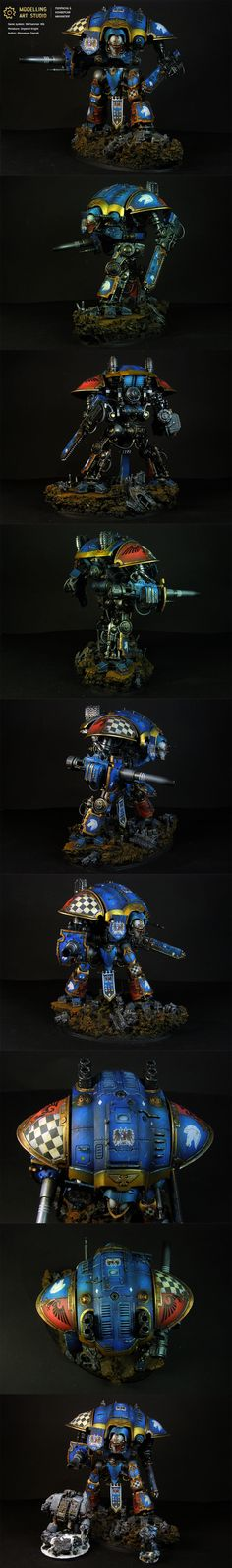 40k - Imperial Knight by Modelling Art Studio