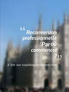 coaching professionnel reconversion