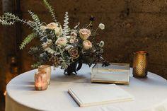 Romantic, industrial fall wedding at Luce Loft in San Diego