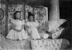 Olga and Tatiana at Peterhof, 1899