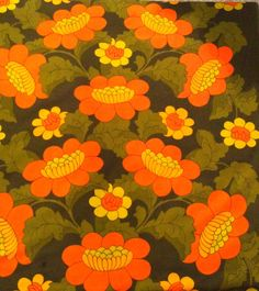 Fantastic Vintage tapestry with an amazing retro by Inspiria