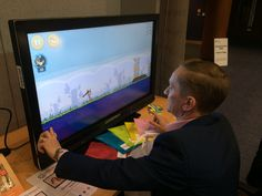 Our Clevertouch screen is always a big hit with exhibition attendee's