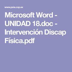 Microsoft Word - UNIDAD 18.doc - Intervención Discap Física.pdf