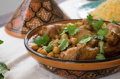 Chtitha Djedj - Or simply Scrumptious Chicken Stew - Boil and Trouble