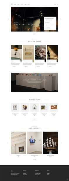 Make a stunning museum or gallery website in no time with Musea WordPress theme. Flat Web Design, Minimal Web Design, Web Design Trends, Design Websites, Fashion Web Design, Simple Web Design, Modern Web Design, Ecommerce Web Design, Layout Design