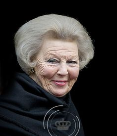 The Dutch Royal Family at the Prince Claus awards 2015  Former Queen Beatrix who abdicated in favor of her son, Willem-Alexander.  Now she is known as Princess Beatrix.