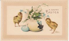 View from the Birdhouse: Vintage Easter Postcards