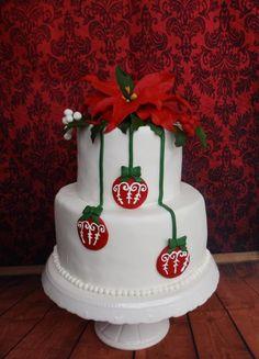 Poinsettia - Cake by Pasiuneameadulce