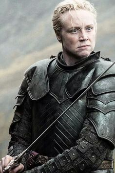 The most knightly knight in the story: Brienne of Tarth, Game of Thrones.