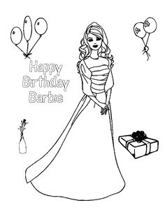 Barbie and Little Sister Coloring Pages Coloring Pages