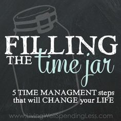 5 time management step that will change your life