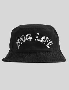Thug Life Bucket Hat    KYC Vintage