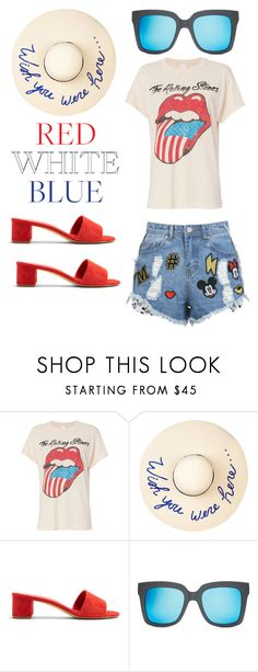 """""""Summer17.Lookbook1.7-Rolling🇺🇸"""" by alb8986 ❤ liked on Polyvore featuring MadeWorn, Eugenia Kim, Mansur Gavriel, Quay and Disney Stars Studios"""