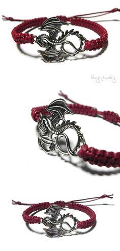 Dragon bracelet - Game Of Thrones fan - Custom made - Elwyn Jewelry