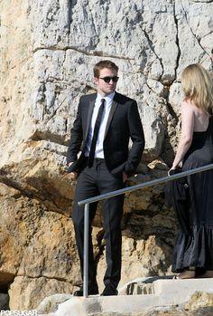 Robert Pattinson pe-o barca @ Cannes Film Festival 2012