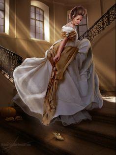 Cinderella by MadameThenadier.deviantart.com on @deviantART