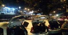 Palácio da Polícia volta a ter acúmulo de carros da PM com presos no RS