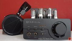 Quad Pa-One Headphone Amplifier With Audeze LCD-X Planar Magnetic Headphones