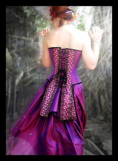 Corset with Tails