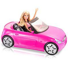 Carro Real da Barbie com Boneca - Mattel