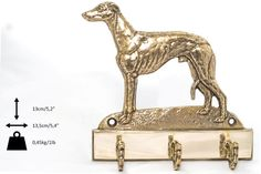 Whippet dog hanger for clothes limited edition by ArtDogshopcenter