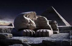 Sphinx Gizeh sleep