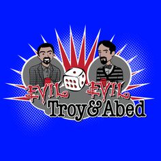 Evil Troy and Evil Abed - Community Shirt on the redditgifts Marketplace