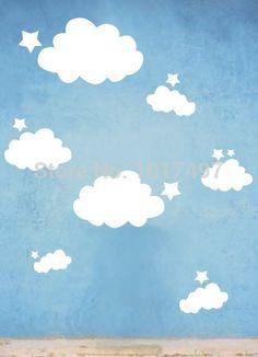 Fresh Kinderzimmer Wandaufkleber Wandtattoos Billige Aufkleber Qualle Babyzimmer Fabriken Baumschulen Glanz Cloud