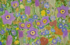 """Austrian artist Gustav Klimt is known for his masterpiece: """"The Kiss. Gustav Klimt, Image Theme, Most Famous Paintings, Flower Close Up, Magic Realism, Square Canvas, Modern Artists, Gold Texture, Colorful Flowers"""