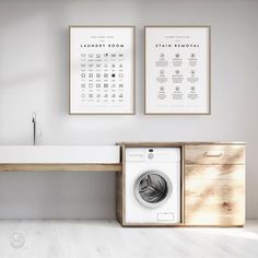 Home decoration is one of the most important elements that help you to define the… Printing Services, Online Printing, Quirky Homeware, Laundry Room Art, Laundry Decor, Basement Laundry, Laundry Symbols, Handmade Art, Etsy Handmade
