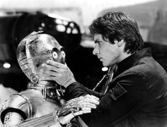 "Han doesn't have much patience with C3PO... ""Hurry up, goldenrod!!"" XD"