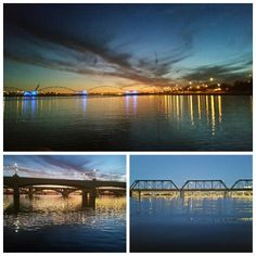 Arizona a summer evenings paddling  Tempe Town Lake.   #tempetownlake #tempe #suplife #suplifestyle #paddleboarding #standuppaddle #arizona #arizonalifestyle #sunsets #sunsetpaddle #asu #nightlights #peaceful #health