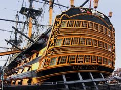 HMS Victory - first rate ship of the line