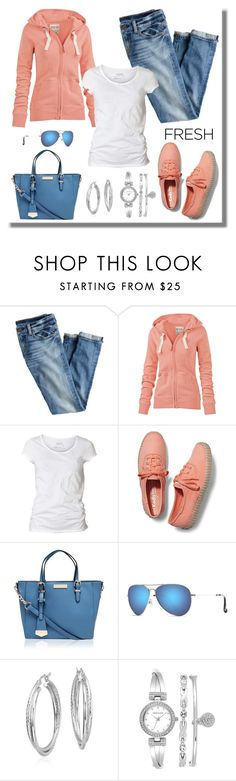 """casual wear"" by gallant81 ❤ liked on Polyvore featuring J.Crew, Fat Face, AllSaints, Keds, Maui Jim, Blue Nile, Anne Klein, women's clothing, women and female"
