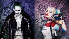 'Suicide Squad' 11 nuevos carteles que cuentan con Joker, Harley Quinn, y mucho más