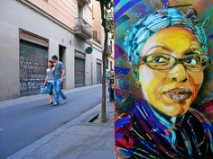 I'll never forget how happy I was to randomly come across his work while traveling through Europe and especially near my house in Milano!!  *New Stencils by C215*