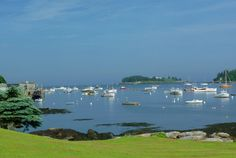 New Harbor,Maine ♥ we spent some time there on our honeymoon 42 yrs ago!