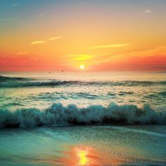 Outer Banks beach sunrise photography