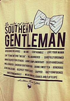 southern gents <3