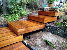 build garden stairs - design give a sense of dynamism