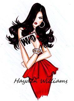 "Hayden Williams ""Ravishing in Red"""
