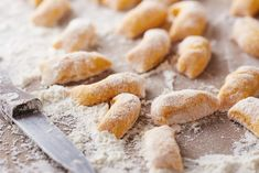Ricotta Gnocchi, Food And Drink, Yummy Food, Bread, Vegan, Cooking, Desserts, Recipes, Base