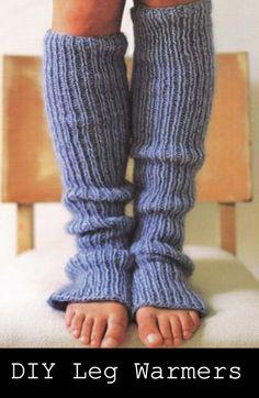 diy legwarmers
