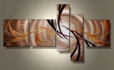 Follow II - modern schilderij