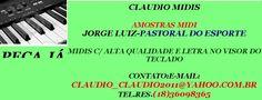 MIDI E PLAYBACK-JORGE LUIZ-PASTORAL DO ESPORTE