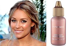MAC Lustre Drops - For an added glow, mix a few Lustre Drops (pictured) with concealer while highlighting. This will give you a dewy and fresh complexion.