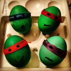 Cute idea for Easter eggs!