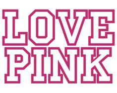 Download Bundle! Love Pink SVG File - Love Pink Clip Art - Love ...