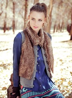 BASEMENT Sweater de pelos para un día de sol o de frío! Métele un toque de estilo a tu look! Cool Sweaters, Basement, Vest, Jackets, Fashion, Blue Prints, Down Jackets, Moda, Root Cellar