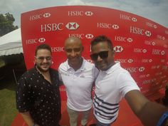 George Gregan just stopped by for the #Bradby #HSBC